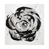 Black and White Bloom I Giclée par Sydney Edmunds