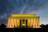 Lincoln Memorial at Night  Washington DC USA