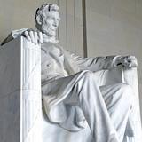 Abraham Lincoln Statue  Lincoln Memorial  Washington Dc  USA
