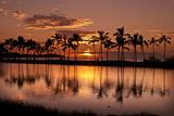 Waikoloa Sunset at Anaeho'omalu Bay