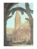 South View of Salisbury Cathedral  1802