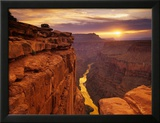 Grand Canyon vu de Toroweap Point Photo encadrée par Ron Watts