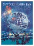 New York World's Fair 1964-1965 - Unisphere Earth Model