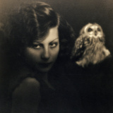 Portrait of a Woman with an Owl