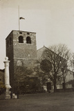 War Campaign 1917-1920: Trieste in January 1919  the Facade of the Church of San Giusto in Trieste
