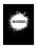 No Excuses Black