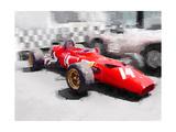 Ferrari 312 Laguna Seca Watercolor