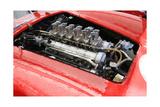 Ferrari 250 GTO Engine Watercolor