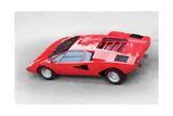 1974 Lamborghini Countach Watercolor