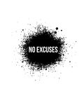 No Excuses White