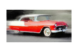1955 Chevrolet Bel Air Coupe Watercolor