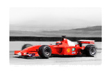 Ferrari F1 Laguna Seca Watercolor