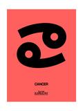 Cancer Zodiac Sign Black