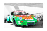 Porsche 911 Turbo Watercolor