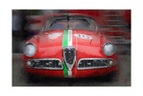 1959 Alfa Romeo Giulietta Watercolor
