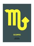Scorpio Zodiac Sign Yellow