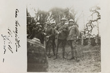 War Campaign 1917-1920: Prince of Wales and His Aide-De- Camp  General Sani  Brusati and Jack Bosio