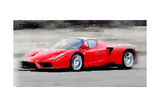 2002 Ferrari Enzo Watercolor
