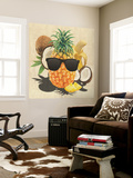 Tropical Medley - Pineapple Wearing Sunglasses