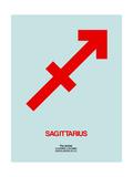 Sagittarius Zodiac Sign Red