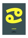 Cancer Zodiac Sign Yellow