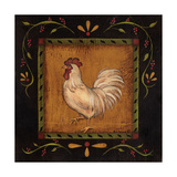 Square Rooster Left