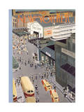 The New Yorker Cover - August 5  1950
