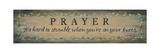 Prayer  it's Hard to Stumble