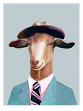 Goat Reproduction d'art par Animal Crew