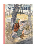 The New Yorker Cover - February 13  1954
