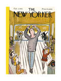 The New Yorker Cover - February 3  1945