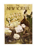 The New Yorker Cover - October 13  1945
