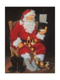 Santa in Chair