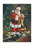Sneaking Santa