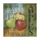 Pommes Giclée premium par Kim Lewis