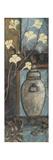 Jar with Flowers II Reproduction d'art par Jo Moulton