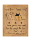Dear House Giclée premium par Kim Lewis