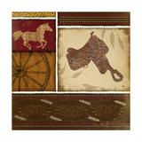 Western Saddle - Red
