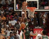 Milwaukee Bucks v Miami Heat