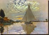 Monet: Sailboat