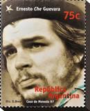 Che Guevara Stamp Argentina'97