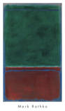 No 7 (Green and Maroon)  1953
