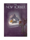 The New Yorker Cover - January 19  1957