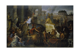 The Entrance of Alexander the Great into Babylon  C 1673