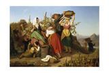 Grape Harvest  1842