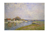 The Banks of the Loing at Saint-Mammes  1884