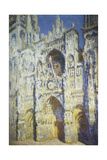 Rouen Cathedral in Full Sunlight  1893