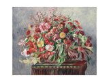 Basket of Flowers  1890