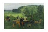 At the Racecourse  1860-62