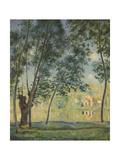 River Landscape  1890